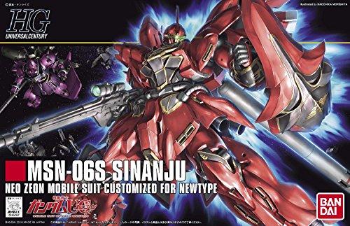 HGUC 1/144 MSN-06S シナンジュ (機動戦士ガンダムUC)