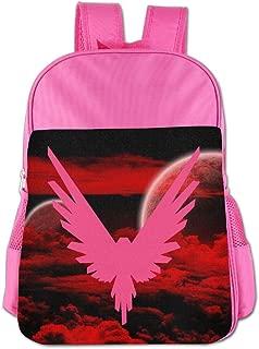 Logan Paul Logo Maverick Pink Childrens School Backpack Carry Bag For Girls Boys