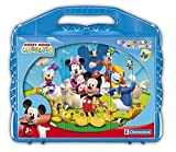 Disney Junior 42495 Clementoni-42495-Cube Puzzle-Mickey Mouse Club House-24 Cubes, Multi-Colour