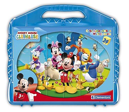 Clementoni 42495.5 La Casa de Mickey - Puzzle de Cubos para