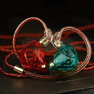 Auriculares Gaming Con cable de control de auriculares de alta fidelidad cable desmontable de transductores dinámicos de subwoofer en la oreja del auricular for juegos 3.5mm para PC, computadora portá