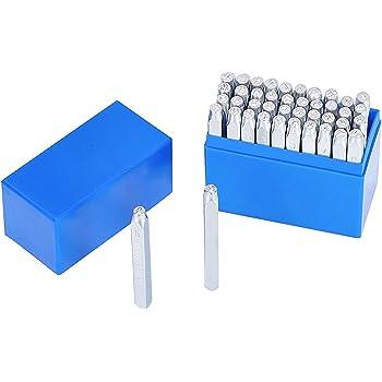 3 mm en acier au carbone et numéro Lettre Timbre Set Alphabet MAIN PUNCH cachet en métal