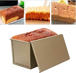 Bread Toast Pan With Cover Bread Toast Mold Baking Tray Kitchen Baking Tool