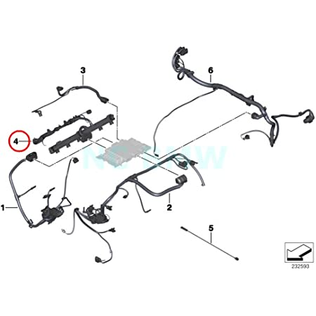 Amazon.com: BMW Genuine Engine Ignition Module Wiring Harness: Automotive | Bmw Ignition Control Module Wiring Harness |  | Amazon.com