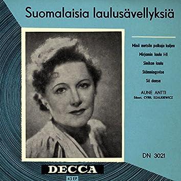 Suomalaisia laulusävellyksiä