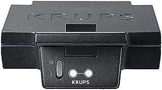 KRUPS FDK452 Grcic Smörgåsgrill Svart Inkluderar Bekväma & Värrmeisolerade Handtag Non-Stick Beläggning 850 W