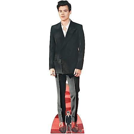 Star Cutouts Ltd Harry Styles Red Shoes Post 1 Direction Lifesize - Corte de cartón (182 cm, Altura de 182 cm), para Aficionados, Amigos y Familia, CS734, 3 x 49 x 182 cm
