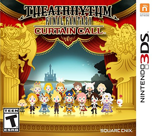 Theatrhythm Final Fantasy Curtain – Nintendo 3DS Standard Edition