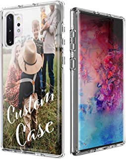 Design Your Own Custom Case - Personalized Photo Image Picture Phone Case for Samsung Galaxy Note 10 / Note 10 Plus - Perfect Custom Case (Note 10)