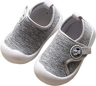 DEBAIJIA Scarpe per Bambini 1-4T Baby Walking Sneakers Ragazze Ragazzi Traspiranti Morbida Suola Antiscivolo Leggero TPR M...