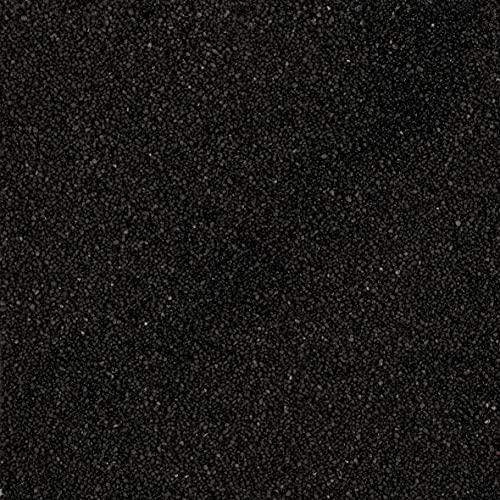 2,5 Liter Dekosand Farbsand im Eimer, 4 kg, bruchsichere Verpackung, Made in Germany (schwarz)