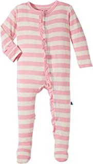 Baby Girls' Essentials Print Ruffle Footie Prd-kprf908-els