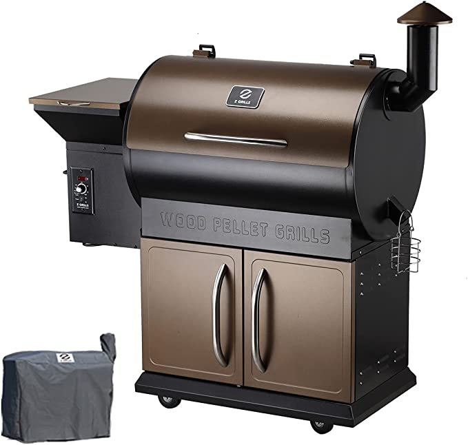 Z Grills Wood Pellet Grill Smoker – The Smoker Grill Combo