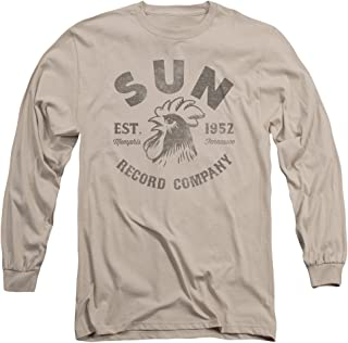Sun Records - Vintage Logo - Adult Long-Sleeve T-Shirt - Small