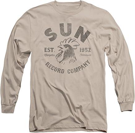 Sun Records - Vintage Logo - Adult Long-Sleeve T-Shirt - Small