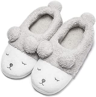 Warm Indoor Slippers for Women Fleece Plush Bedroom Winter Boots