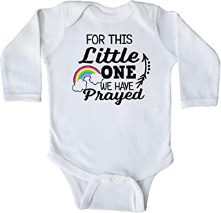 for This Little 1 We Have Prayed Long Sleeve Creeper