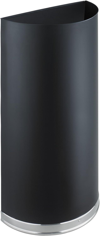 Safco halbrunde steckhülseno – 12.5-gallon Kapazität – Schwarz B009YUXV44 | Treten Sie ein in die Welt der Spielzeuge und finden Sie eine Quelle des Glücks