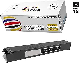 Global Cartridges Compatible Toner Cartridge for Sharp MX-2600N MX-3100N MX-4100N MX-4101N MX-5001N Printers / MX36NTBA Black