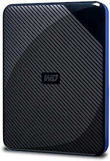 WD Gaming-Speicher 4 TB mobile externe Festplatte schwarz blau für PS4, kompatibel mit PS4 Pro ab Firmware 4.50 - WDBM1M00...