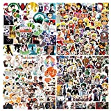 Anime Stickers Mixed Pack[200 Pack]Vinyl Waterproof for Laptop Stickers,Skateboard, Hydro Flask, Water Bottle, Computer, Guitar,Luggage, Bike Bumper.Adults Kids Teens for Stickers (Anime Stickers-2)