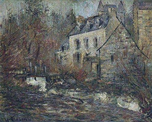 Het Museum Outlet - De Simondou Molen bij Pont-Aven, Stretched Canvas Gallery verpakt. 20 x 28