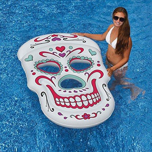 Flotador de calavera 160 x 101 Calavera mexicana