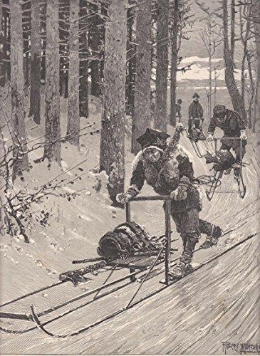Schlitten fahren - Schwedische Bauern mit dem