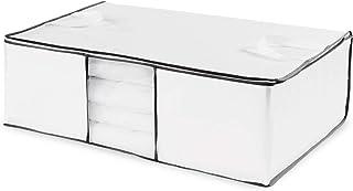 Compactor World Housse de rangement sous vide, Blanc, 68,5 x 58,5 x H25,5 cm, RAN633