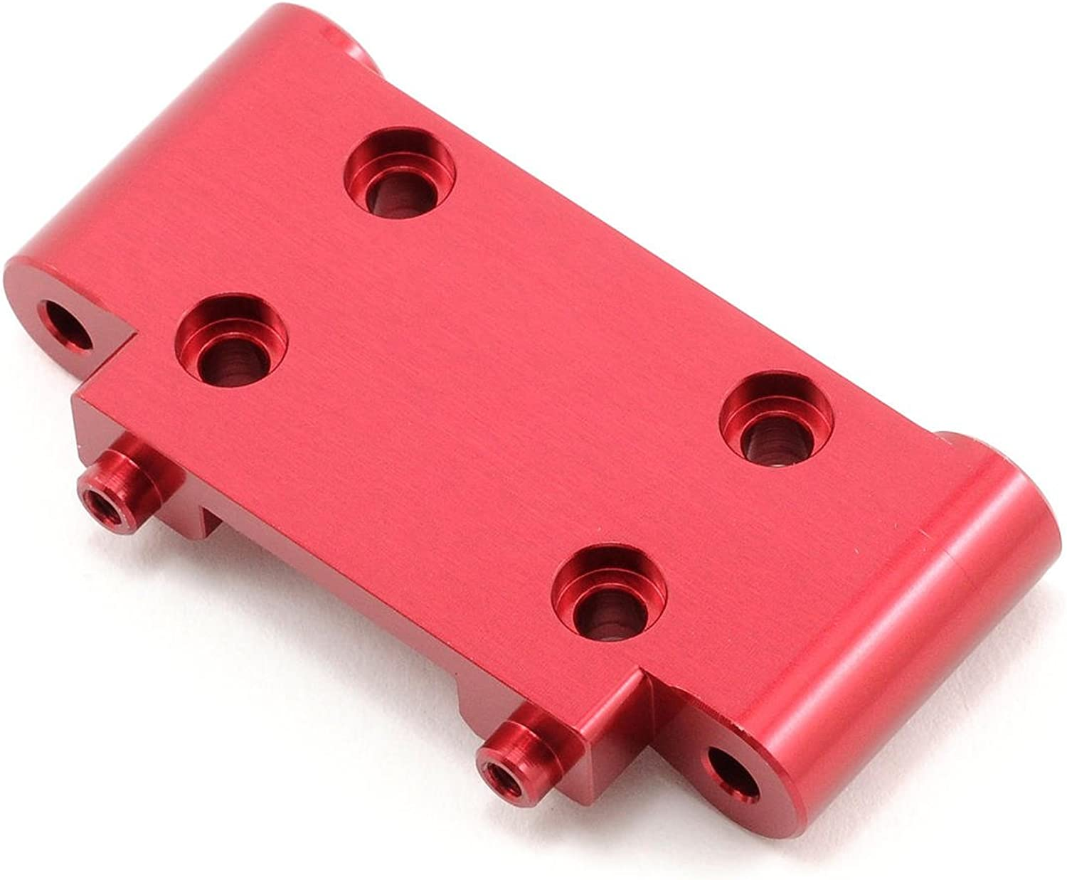 ST Racing Concepts STC9563R Aluminum Front Bulkhead for The SC10, B4 and T4 (Red)