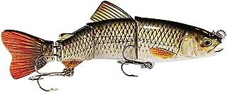"Eye Candy Fishing Lures 6"" Jointed Lifelike Rainbow Trout Sinking Swimbait Hard Fishing Lure"