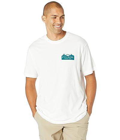 Filson Short Sleeve Ranger Graphic T-Shirt (Fast Track) (Bright White