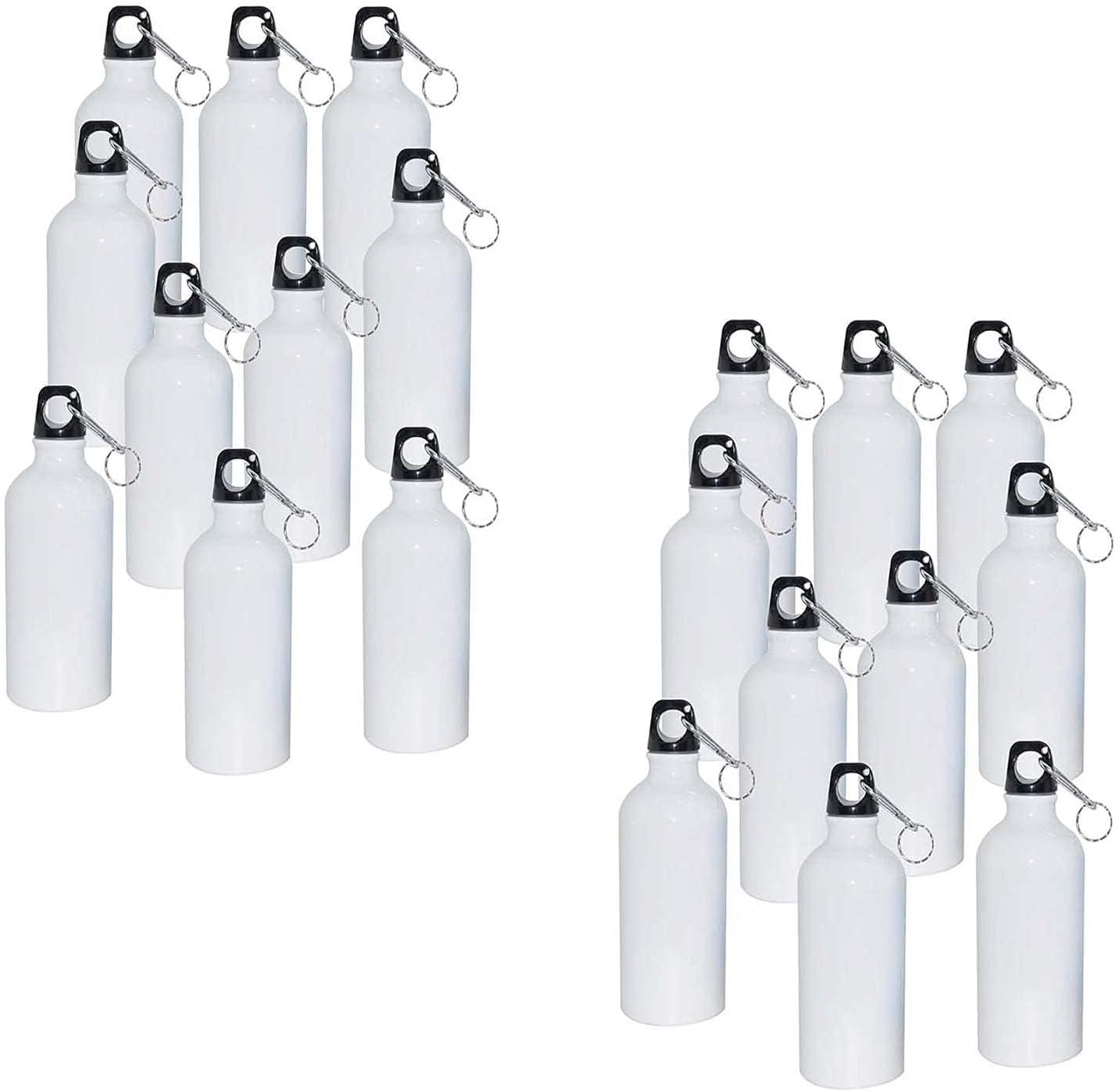 INTSUPERMAI Beauty products 20pcs 750ml White Blank Sublimation Aluminium Free Shipping New Coated