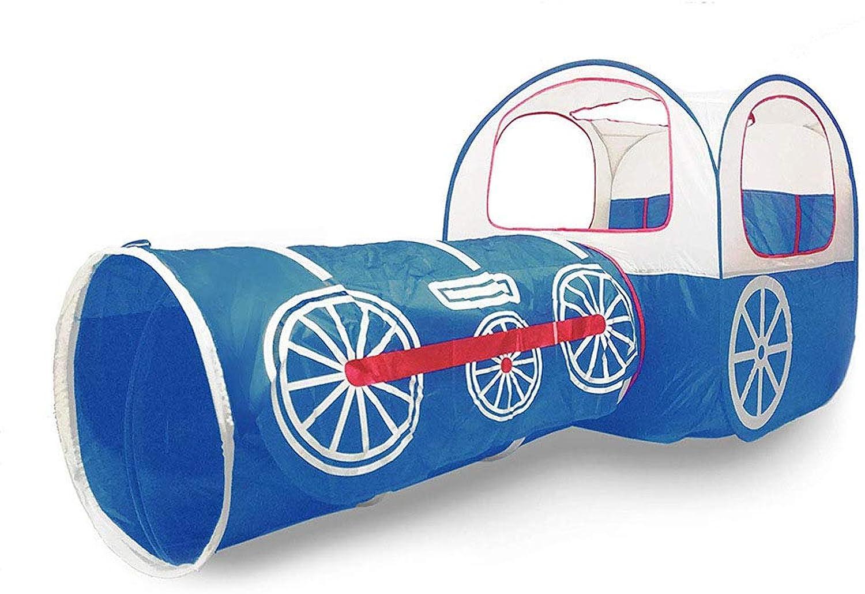 Wadwo Tragbare Outdoor Indoor Kinder Spielhaus Zug Zelt 2 In 1 Kreative Persnlichkeit Design Zelt Plus Tunnel