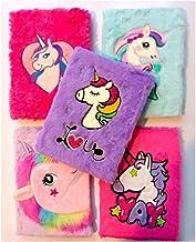 Vikas gift gallery Unicorn Fur Diary for Girls, Unicorn Fur Notebook for Girls ( 1 Piece Random Colour and Design)