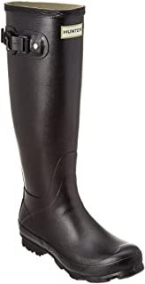 Hunter Norris Field Wellington - Botas para Mujer, Color Negro, Color Negro, Talla 36.5