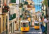 Castorland Lisbon Trams, Portugal Puzzle - Rompecabezas (Portugal, Puzzle rompecabezas, Ciudad, Niños y adultos, Niño/niña, 9 año(s), 680 mm) , color/modelo surtido