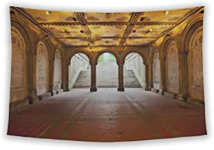 Wall Tapestry For Bedroom Hanging Art Decor College Dorm Bohemian, Lower Passage Of Bethesda Terrace, 60x51