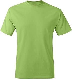 Premium Tagless T's in Lime - Medium
