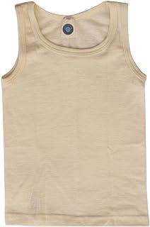 Cosilana - Camiseta para niños (70% lana, 30% seda y 70% algodón)