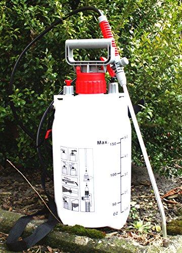 Drucksprüher Drucksprühgerät Gift- Unkraut- Spritze 5 Liter Garten Zubehör