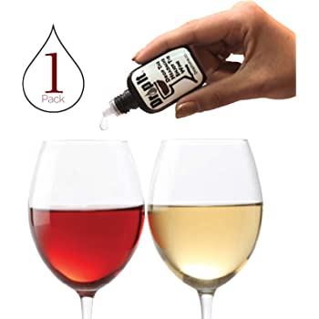 Drop It Wine Drops, 1 Pack – Natural Wine Sulfite Remover and Wine Tannin Remover – Enjoy Wine Again, Works in Just 20 Seconds – Portable and Discrete – A Wine Filter or Wand Alternative