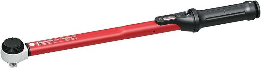 Gedore R68900200 Klucz Dynamometryczny do Gwintów, Czerwony/Czarny, 40-200 Nm/ 1/2 cala