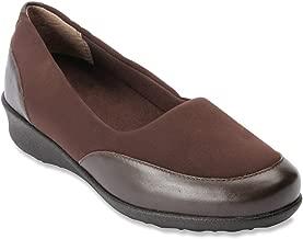 Drew London - Women's - Comfort Slip-on Brown Combo - 6.5 Med