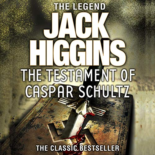 The Testament of Caspar Schultz audiobook cover art