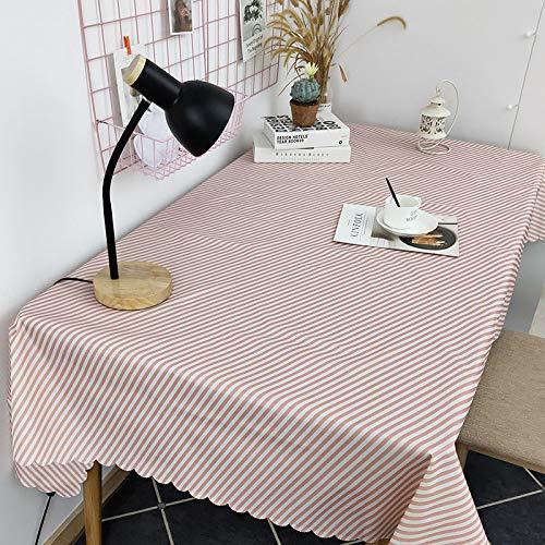 LYDCX Nappe De Table Nappe Nordique Table Basse Pad Housse Tissu Étude À Domicile Nappe Housse Serviette