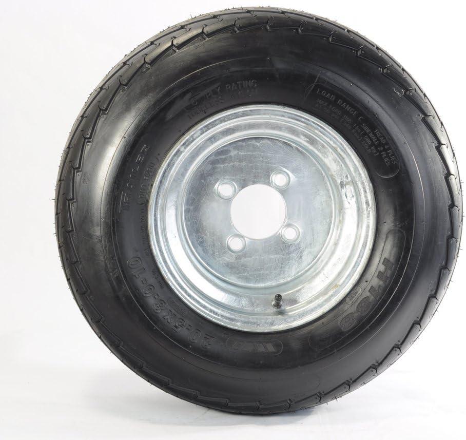 Trailer Jacksonville Mall Tire On Rim 20.5X8-10 205 Wheel 4 Lug 65-10 Same day shipping 20.5X8.0-10