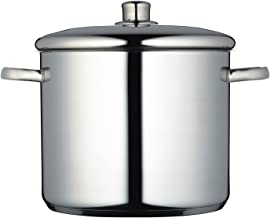 Masterclass Induction-safe Stainless Steel Stock Pot With Lid, 11 Litre
