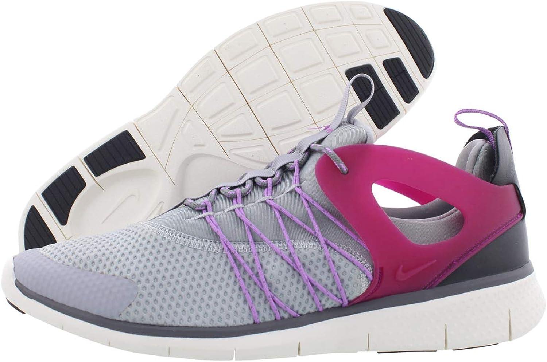 Nike free viritous womens running trainers 725060 sneakers shoes (uk 4.5 us 7 eu 38, white white wolf grey pure platinum 100)