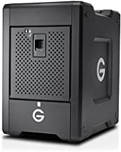 G-Technology 24TB G-SPEED Shuttle Thunderbolt 3 with ev Series Bay Adapters - Transportable 4-Bay RAID Storage Solution - 0G10146